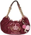 Juicy Couture Jada Velour Hobo Bag