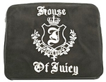 Juicy Couture Velour Laptop Sleeve in Black